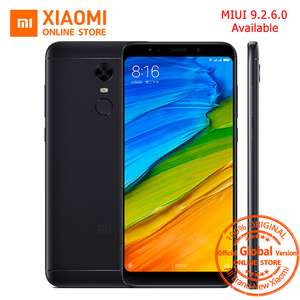 Global Version Xiaomi Redmi 5 plus 5.99 inch Full Screen Smartphone Redmi5 3GB 32GB Snapdragon 625 Octa Core 4000mAh MIUI 9.2.6 £132.35 @ aliexpress / Xiaomi Online Store