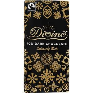 Divine chocolate £1.76 @ Waitrose (20% off all Divine choccy bars)
