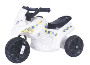 Police 6V Electric Ride On £27.50 / Fairy 6V Electric Ride On £27.50 C+C @ Tesco Direct
