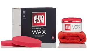 Autoglym High Definition Wax  only £20 @ halfords