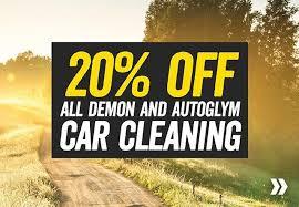 20% off autoglym and demon stuff @ Halfords