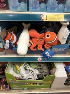 Finding dory soft toys £1 instore at poundland