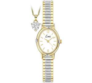 Limit Ladies' 'Special Mum' Necklace and Watch Set was £19.99 now £12.99 C+C @ Argos