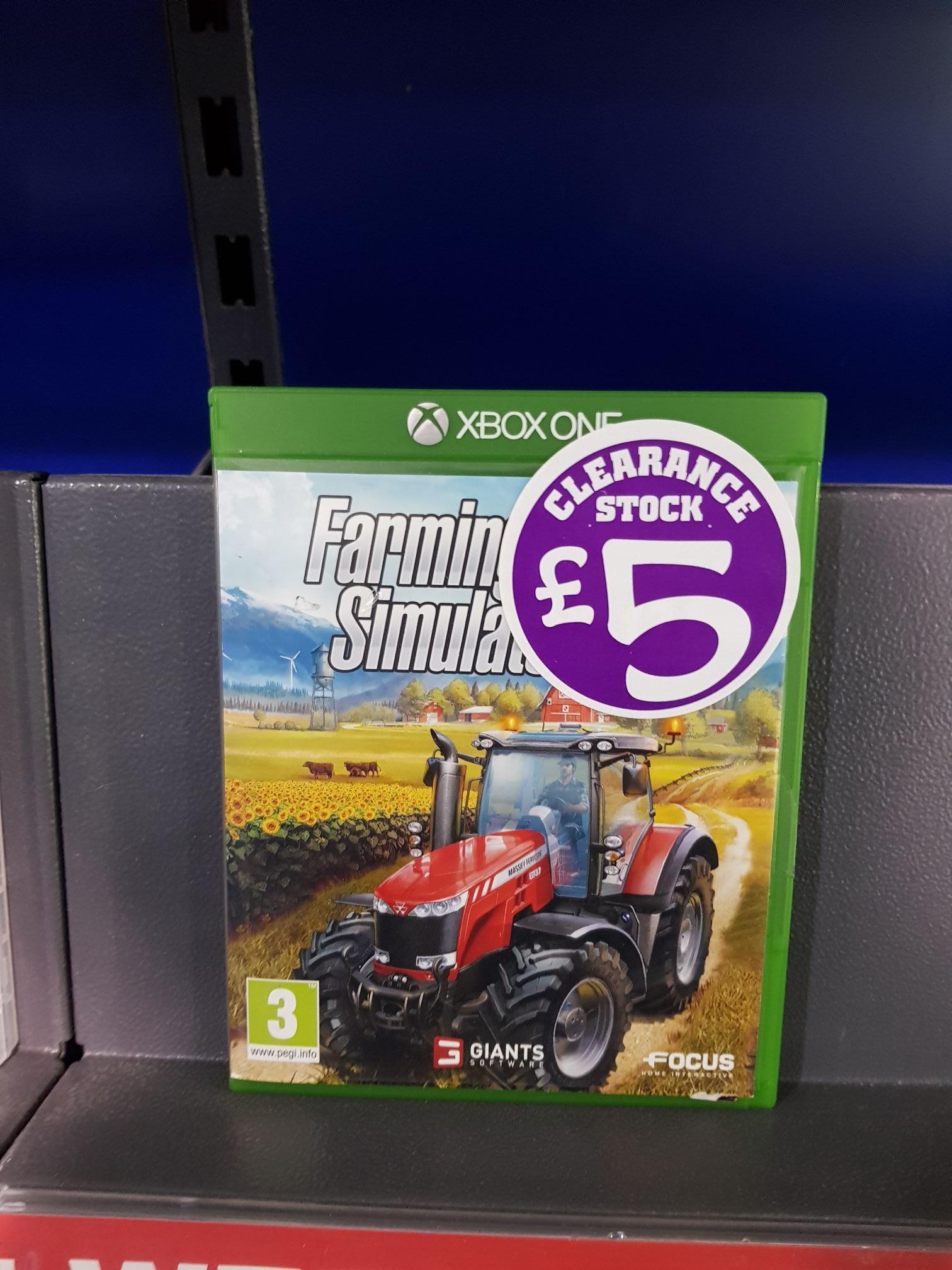 Xbox One Farming Sim 2017 £5 @ Smyths Toys -  Speke