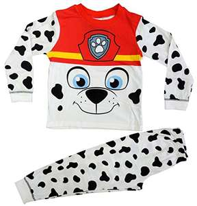 Paw Patrol Novely Pyjama Marshall PJ's Nightwear - AGE 5-6 £2.90  + £3.99 UK delivery  Amazon sold by Lora Dora