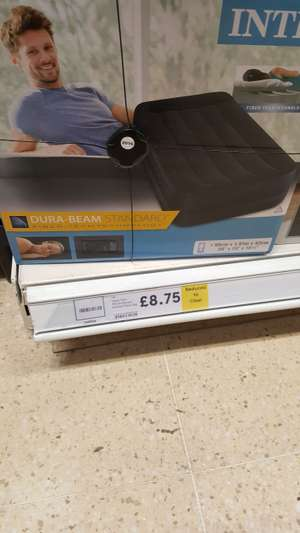 Intex Airbed with built in pump £8.75 instore at Tesco (Ammanford)