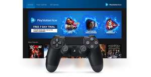 PS Now FREE 7 Day Trial.