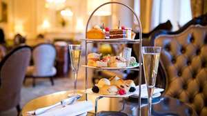 Afternoon Tea with Optional Champagne for Two at The Grosvenor Hotel from £12.50pp @ Groupon - ends 4pm