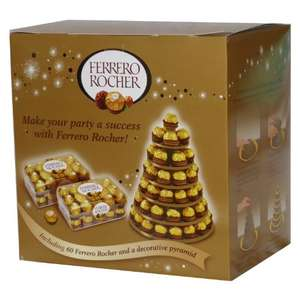 Ferrero Rocher 60pc pyramid £9.99 @ Fulton Foods
