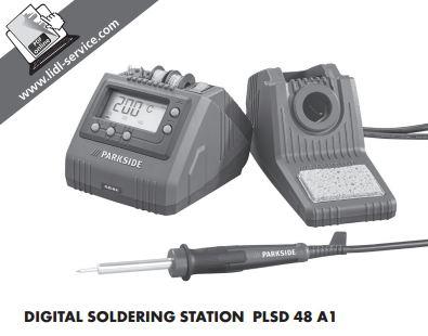Parkside Digital Soldering Station PLSD 48 A1 £14.99 @ Lidl