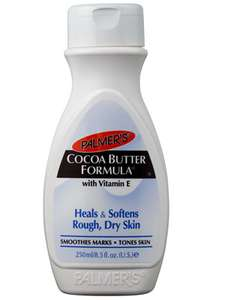 palmers cocoa boddy butter lotion 250ml £2.66 @ Boots