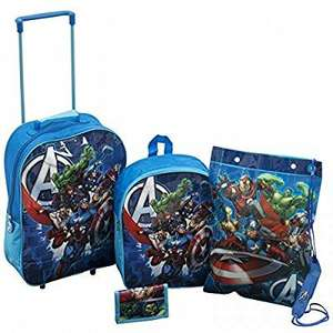 Marvel Avengers Luggage Set - 4 Piece £8.95 delivered @ Amazon. Dispatched from and sold by laylawson