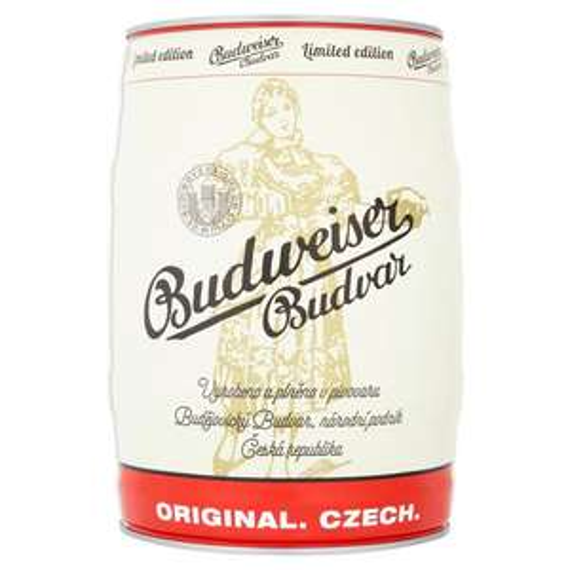 Budweiser Budvar Keg 5L £13 @ Morrisons