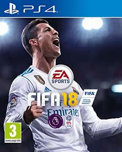 FIFA 18 PS4 - Used - Grainger Games (£19.99)