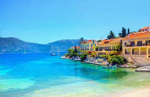 7 nights in Kefalonia for £132 (£264 total) including flights and 3*apartment @ Ebookers