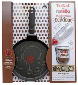Pancakes for life, not just shrove Tuesday. Tefal 25cm Animal Pancake Pan With 200g Jar Of Nutella. Now £11.50 @ Tesco