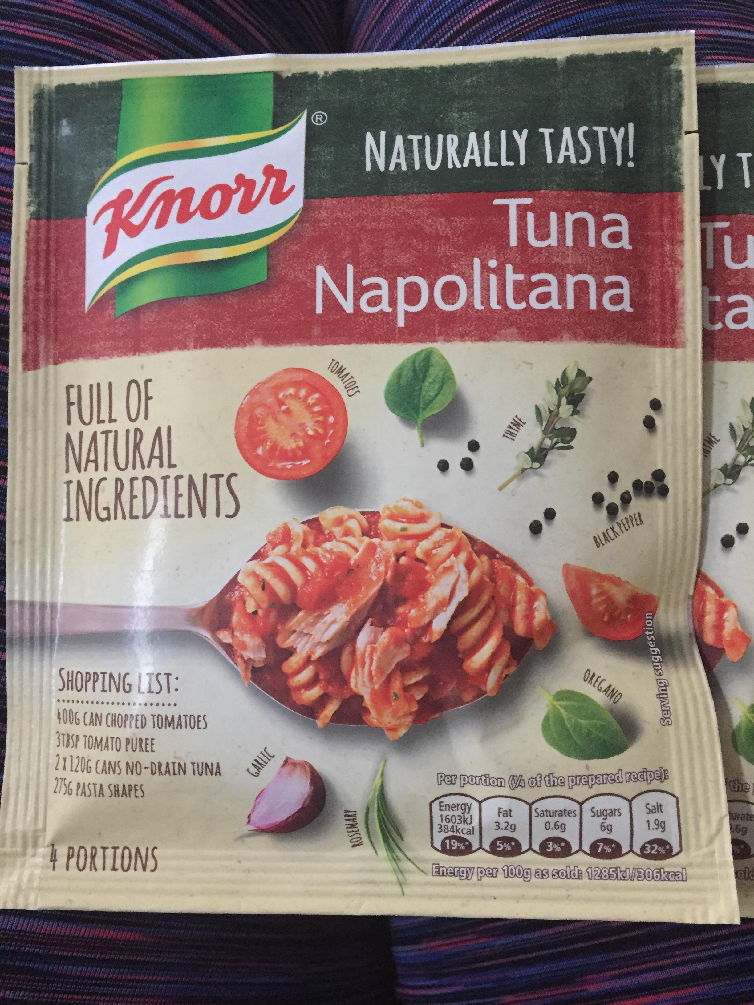 Knorr Tuna Napolitana pasta mix 10p @ b&m Naturally tasty