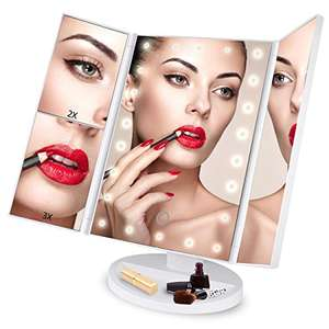 LED Makeup mirror only for 11.39 Prime £15.38 Non prime Sold by Aonokoy Inc and Fulfilled by Amazon.