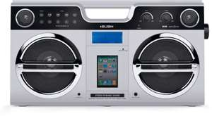 Bush Retro Boombox with Docking Station and DAB Tuner  £14.99  Argos eBay Store