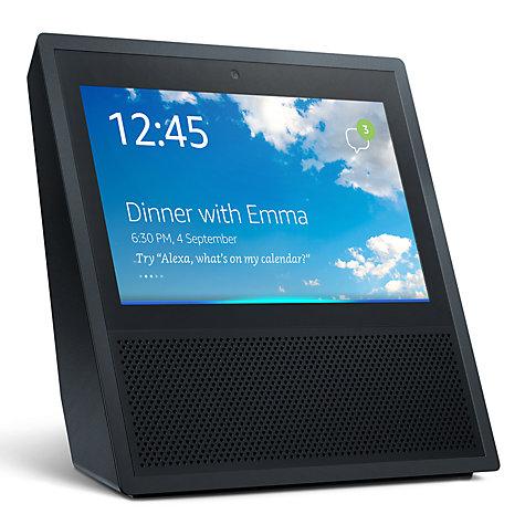 Amazon Echo Show & Alexa Voice Assistant Black £139.99 @John Lewis
