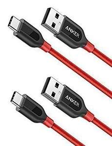[2-Pack] Anker PowerLine+ USB-C to USB A 2.0 Cable, 3ft, £8.99 Prime / £12.98 Non Prime @ Amazon