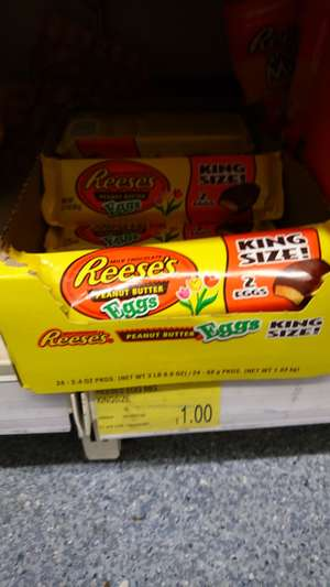 Reeses King size eggs x2 @ b&m