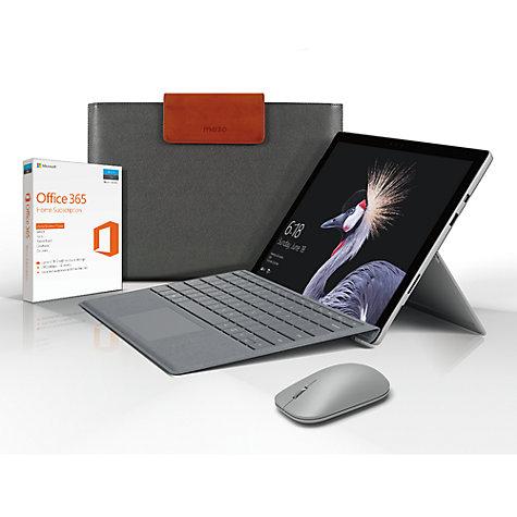 Surface Pro i5, 8GB RAM, 256GB Bundle w keyboard mouse & sleeve £1299.95 @ John Lewis