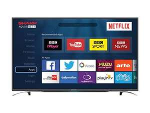 "Sharp LC-49CFG6352K 49"" Full HD Smart LED TV £349 @ BT Shop"