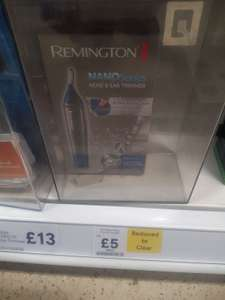Remington Nano 3850 nose and ear hair trimmer £5 instore Tesco Liverpool Deysbrook
