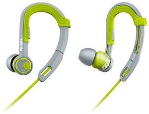 Philips Action Fit Sport Wired Headphones with Ear-Hook - Green £6.99 - Argos ebay