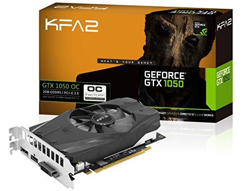 KFA2 Geforce GTX 1050 OC Graphics Card 2GB £113.99 @ Amazon