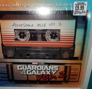 Guardians of the Galaxy Awesome Mix Vol 2 Vinyl Soundtrack £9.99 for HMV Pure Members - HMV in store