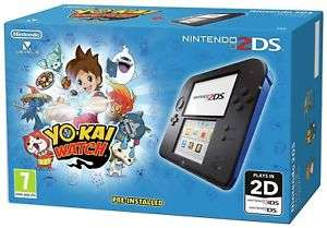 Seller Refurbished Nintendo 2DS Blue Console With Yo Kai Watch £44.99 Delivered @ Argos via eBay (White & Red With New Super Mario Bros 2 £45.99)