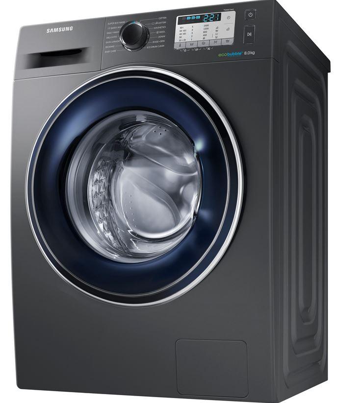 Samsung WW5000 Ecobubble WW80J5555FC  8Kg Washing Machine @ ao.com £349 with code