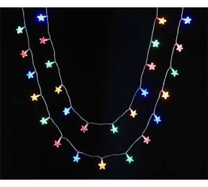80 Multi Star String Lights £2.79 @ Argos