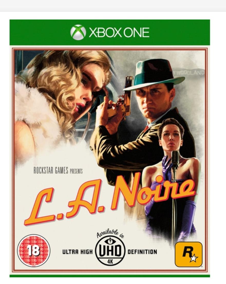 L.A. Noire Xbox One / PS4 , £19.99 @ Smythtoys free c&c