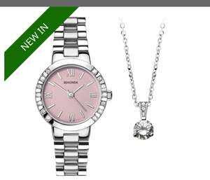 Sekonda watch + 2 Pendants(refer description), £34.98 @ HSamuel (free c&c)