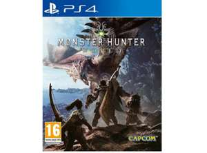MONSTER HUNTER: WORLD(PS4) , for £39.95 delivered @ theGameCollection