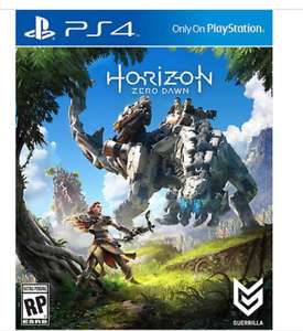Horizon Zero Dawn Standard Edition(NEW)  PS4 - packed in card sleeve (Spanish packaging) £17.99 @ playerKeys EBAY delivered