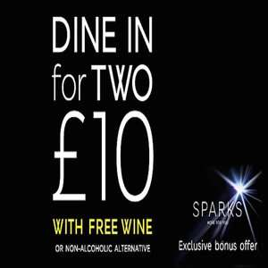 Dine in for £10 - Main, Side, Dessert and Wine - Instore Food Offer Back @ M&S (March 7 - 13)