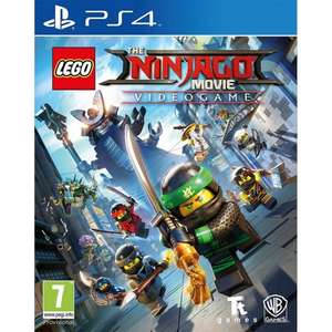 LEGO NINJAGO Movie Video Game (PS4) £14.95 Delivered @ The Game Collection