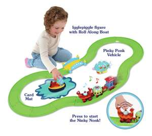 In the Night Garden Musical Ninky Nonk Train and Track Set. Was £26.99 now £14.99 @ Argos