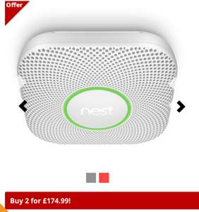 Nest protect wired £89.50 or 2 for £174.99 @ Priority plumbing