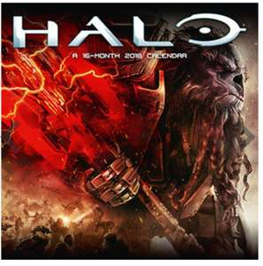 Better late than never. Halo official 2018 calendar (others available inc COD) 50p @ The Works. Free C&C