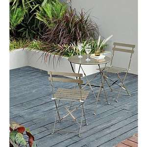 Heritage 3 Piece Folding Bistro Set in Bronze was £51.95 now £32.95 Delivered @ Asda George
