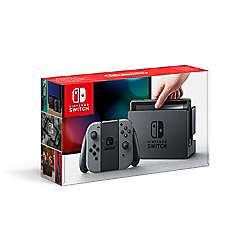 Nintendo Switch console grey + Mario Rabbids Kingdom Battle + Super Mario Odyssey + Joy-Con Comfort Grip - £309 at Tesco