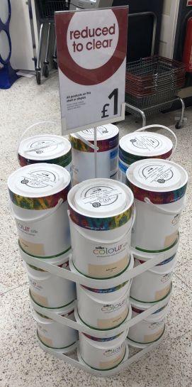 Wilko Colour Silk 5 Litres £1 @ Wilko Thamesmead