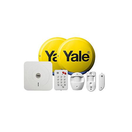 YALE WIRELESS SMART HOME & VIEW ALARM KIT SR-330 £295 at B&Q