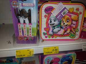 Shopkins and paw patrol girls lunch bags £3.50 instore @ Asda Hunts cross