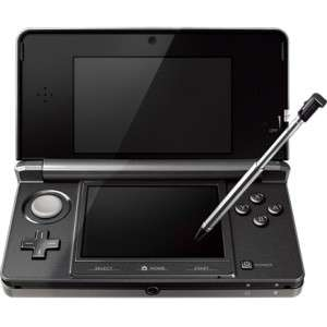 Nintendo 3DS Black Refurbished (grade good) with 12month Warranty - Music Magpie @ £59.99